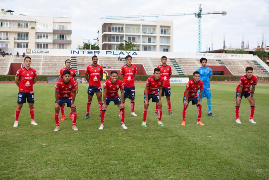 11 inicial del Club Deportivo Irapuato.